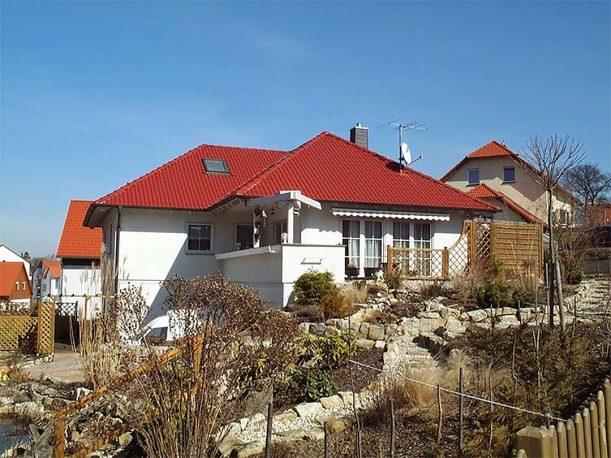 Einfamilienhaus - Grundriss Winkelbungalow
